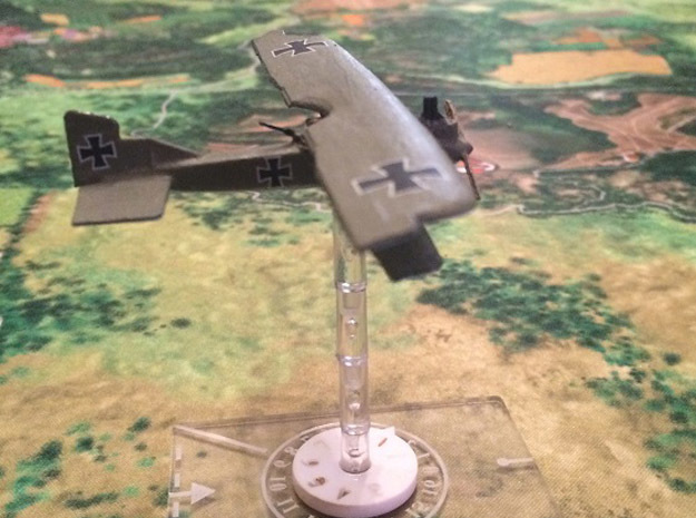 1/144 Junkers J.I 3d printed Photo Courtesy Darryl H.