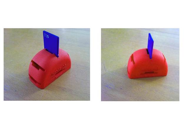 USB flash drive holder: HEDGEHOG 3d printed Usb flash drive & sd card holder