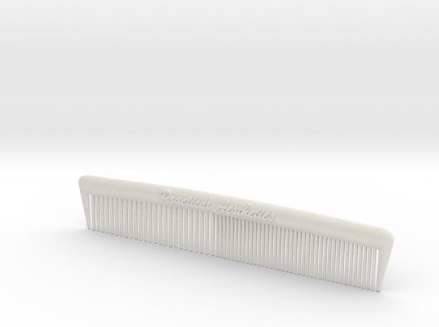 Pocket Comb, 5 inch, Coarse/Fine 3d printed