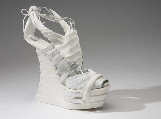 Janina Alleyne - Scorpion Shoe (Bottom) 3d printed