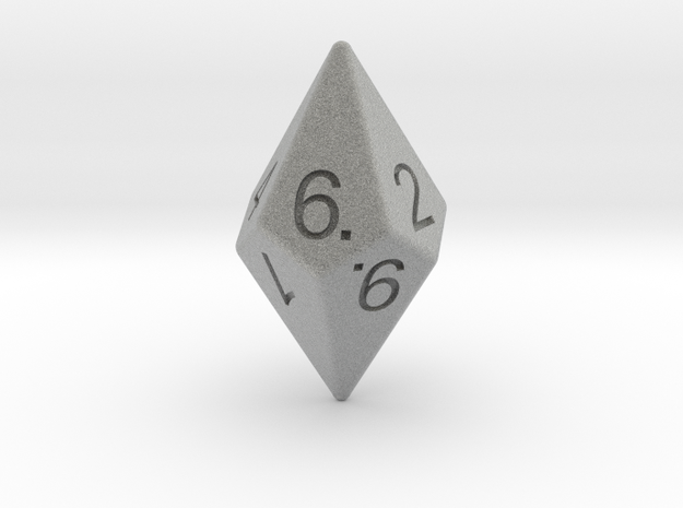 D10 Diamond Dice 3d printed