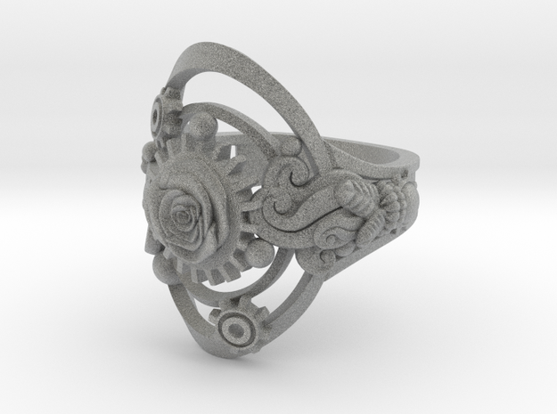 Botanika Mechanicum Ring SIZE 10 3d printed