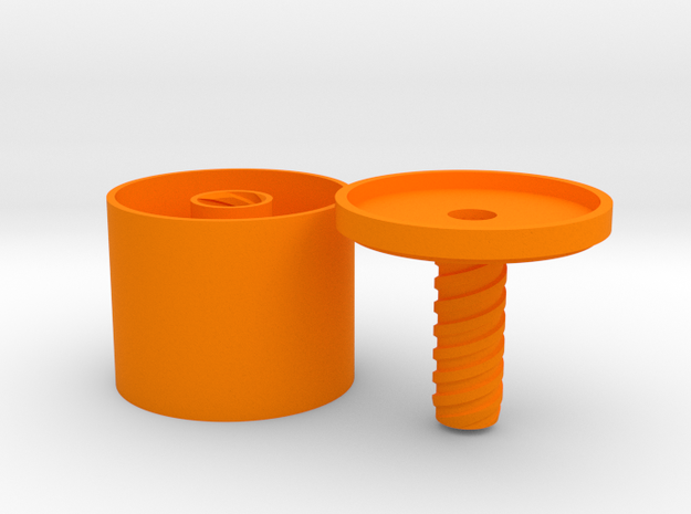 *container round with center hole 3d printed