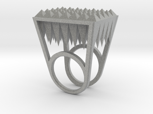 RockStone - ring size 7 3d printed