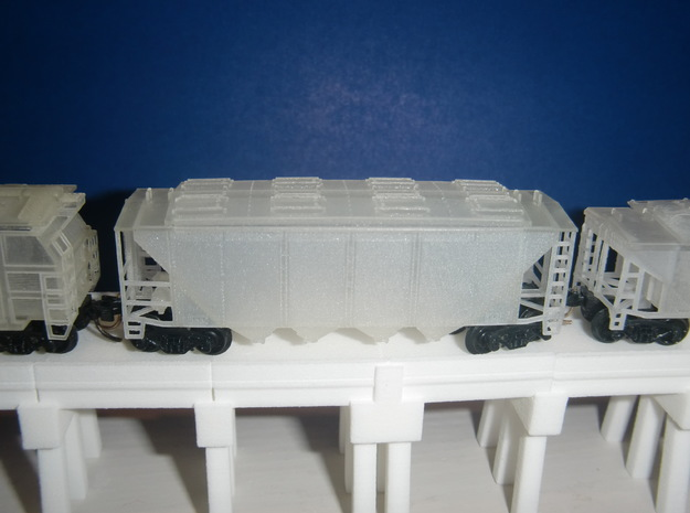 U14 N scale No Roofwalk 3d printed