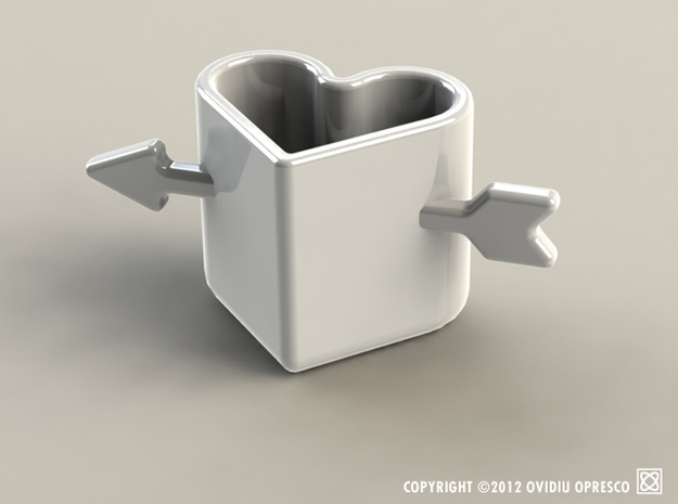 Drink Your Heart Out! - Espresso & Sake Cup 3d printed