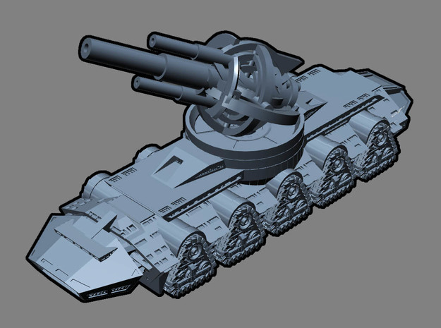 GIANT LASER TANK !!! (3 inch version) 3d printed