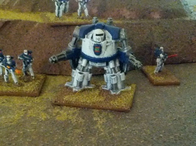 15mm Legionary Hellknight Dreadnought (x1) 3d printed