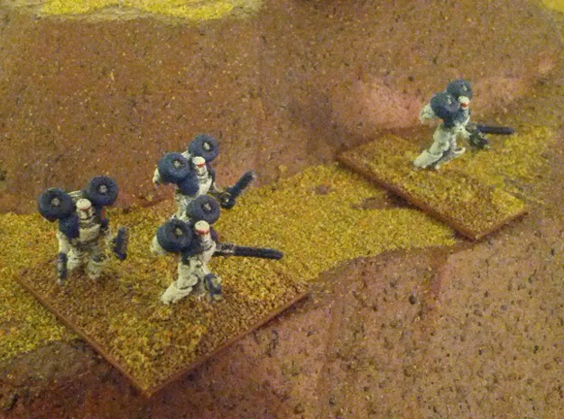 15mm Legionary Storm Squad 3d printed