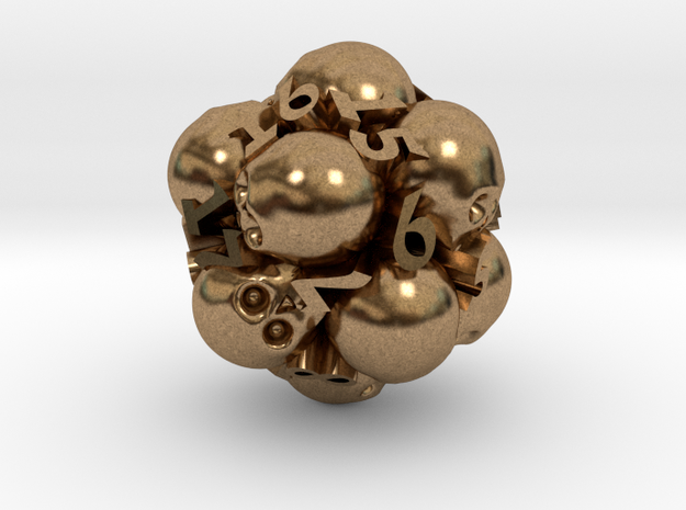 Spin-Down Ossuary d20 3d printed