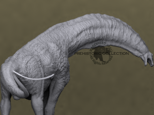 Isisaurus Deluxe 3d printed Isisaurus sculpture model by ©2012-2014 RareBreed