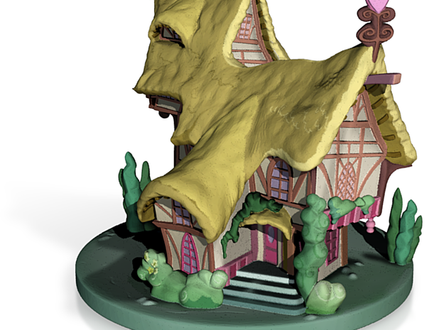 My Little Pony - Ponyville House (≈90mm tall) 3d printed