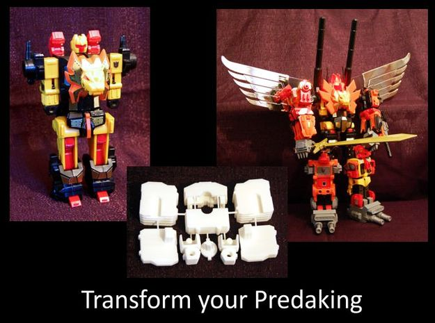 Predaking upgrade kit V2 1 3d printed