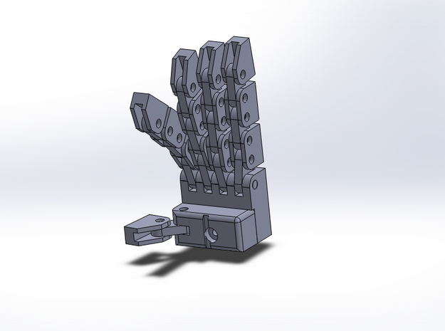 20th Anniversary Prime hands 3d printed