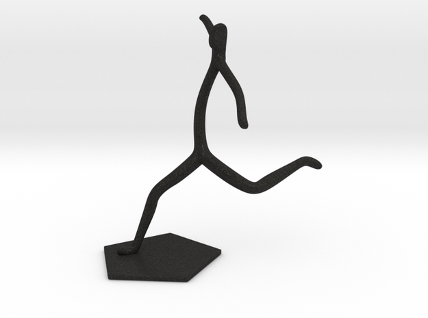 Soccer Statue 3d printed