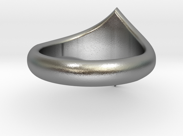 R Star Ring 3d printed