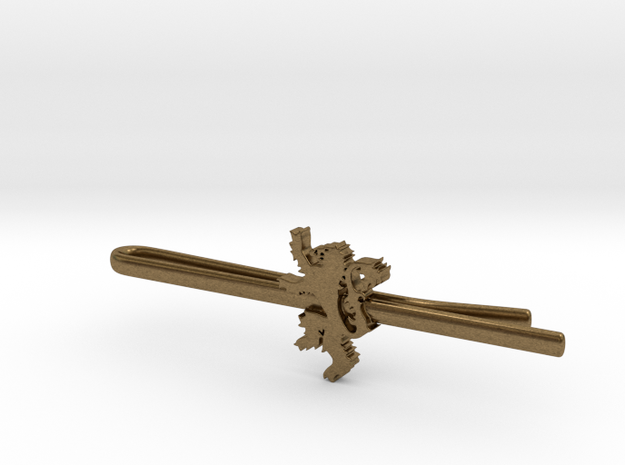 Game of Thrones: House Lannister Tie Clip 3d printed