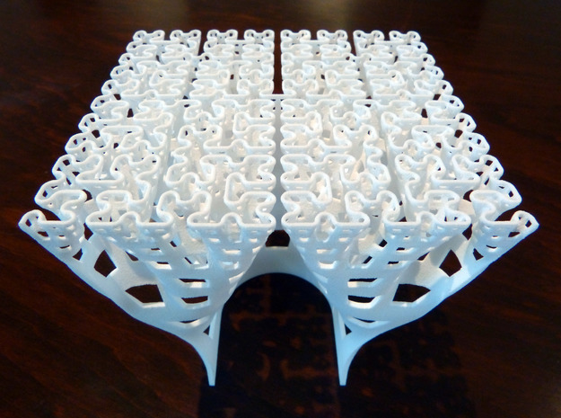 Developing Hilbert curve (Large) 3d printed