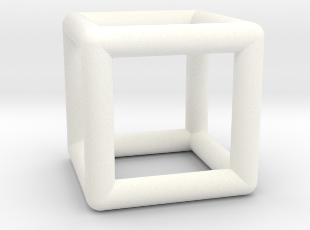 Hexahedron (Cube) 3d printed