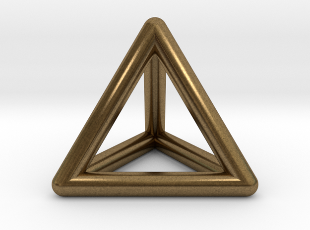 Tetrahedron 3d printed