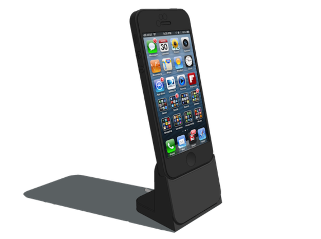 PREHITI iPhone 5 Dock 3d printed