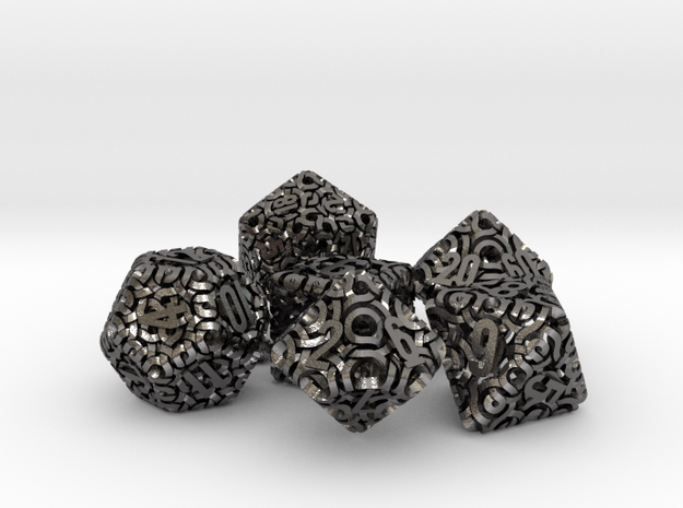 Ring Dice Set With Decader