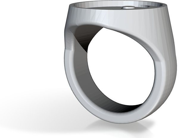 Custom Signet Ring 3d printed