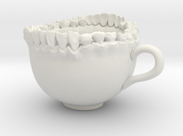 Large Teeth Tea Mug 3d printed