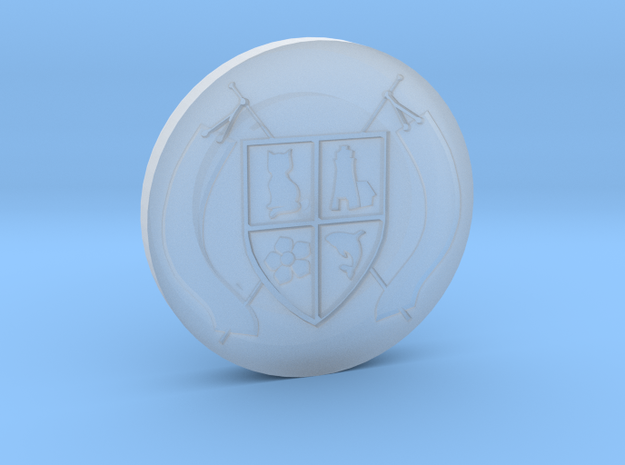 Montucio Wax Seal Stamp 3d printed