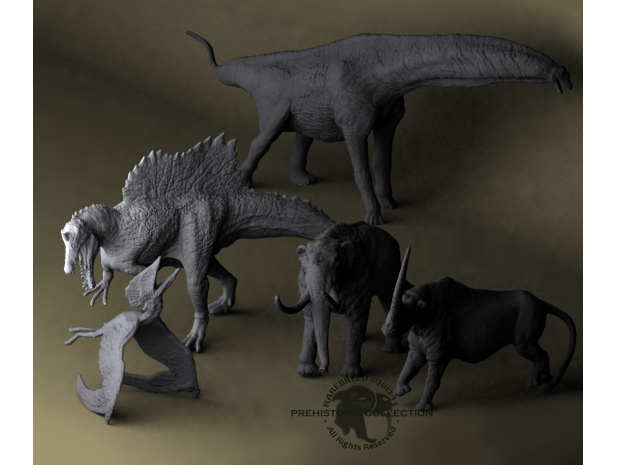 Mini Prehistoric Collection 1