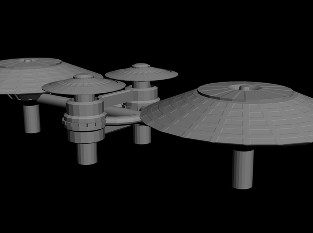 Farrel Station 82 (Beta Quadrant) 3d printed
