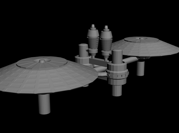Large Space Base Prima Terra 3d printed