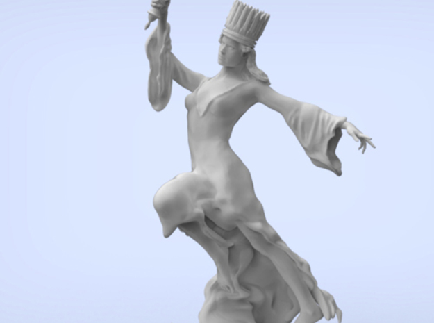 Liberty Statue (medium) 3d printed