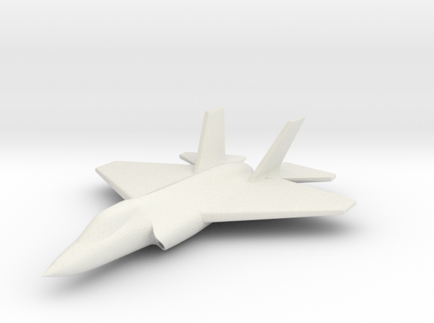 1/285 (6mm) F-35C Carrier Version 3d printed