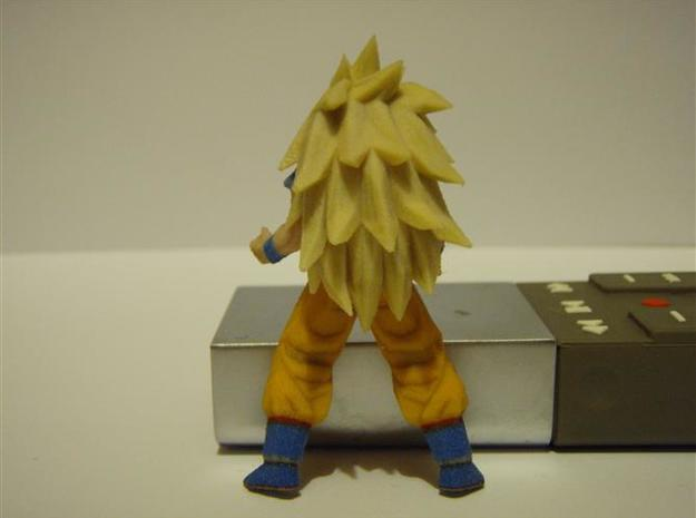 DBZ - SanGoku SS3 with Socle 3d printed Old 60mm version