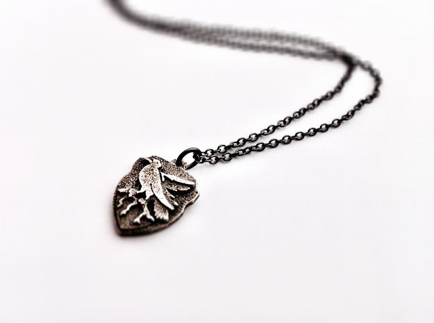 Ravenclaw Crest Necklace 3d printed