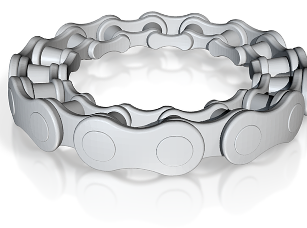 RS Chain ring 2 3d printed