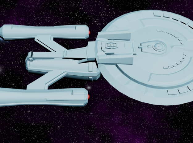 USS Oracle (Shadow Class) 3d printed