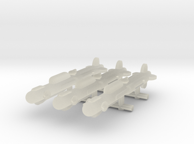 NuBlazers Ruskin Frigate Group - Fleetscale 3d printed