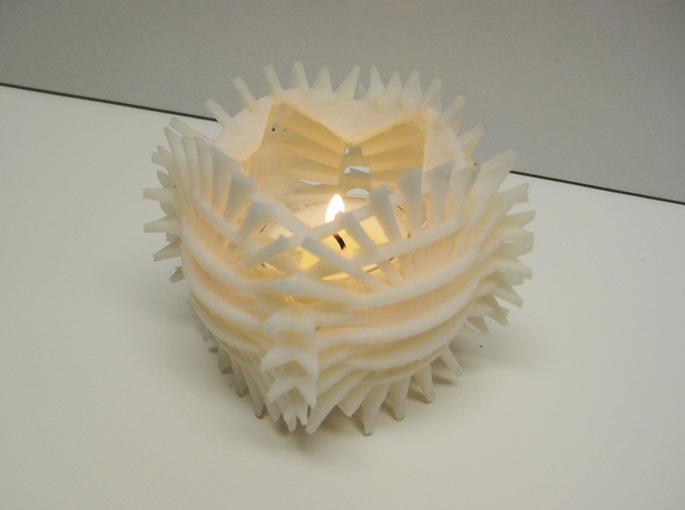 Sun Candle by Jeff Hosford 3d printed