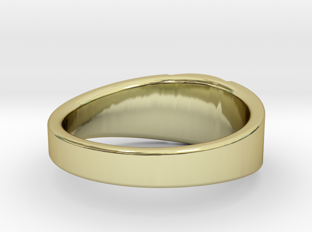 ORSHOV RING REVISED SIZE 7 3d printed