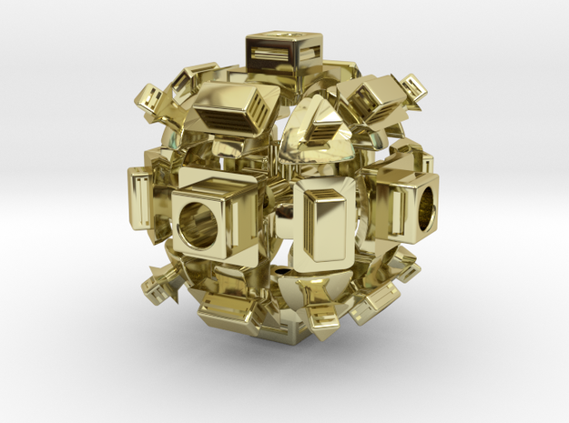Heavy Metal! Ghost Cube (For Sale) 3d printed