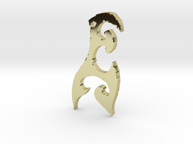 Tribal Hook Necklace by Roger #3 3d printed
