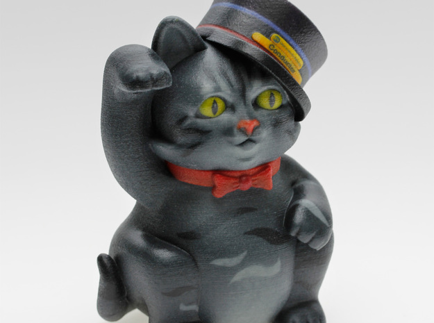 Smart Cat Maneki Neko 3d printed
