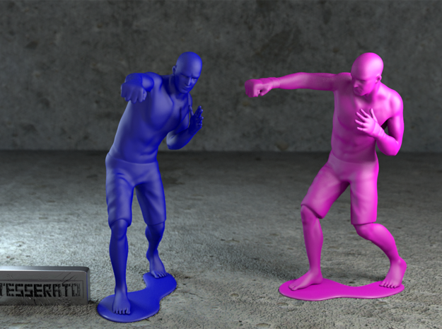 MMA fighter 1:32 3d printed