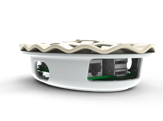 Pi Dish Base (Ceramic) 3d printed