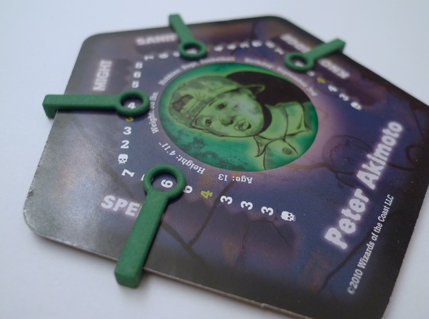 Replacement Clips Betrayal at House on the Hill 3d printed