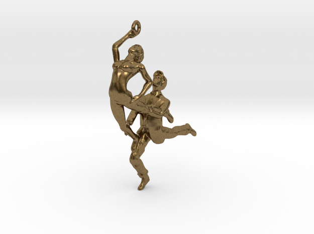 Dance LOVE Pendant-Earring 3d printed