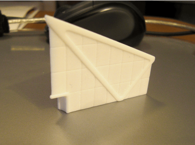 Office Building (1/285) 3d printed successfully printed in polished WSF