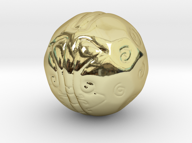 Thought Ball 3d printed
